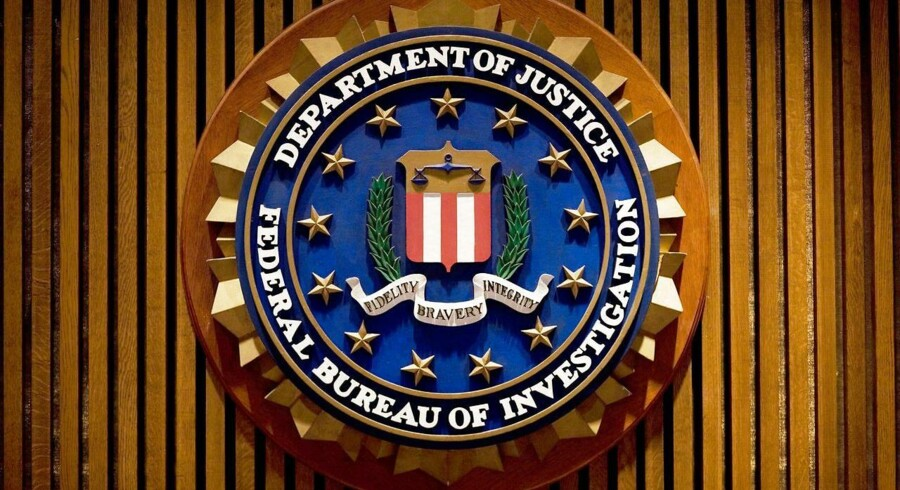 FBI-logo. Arkivfoto: AFP PHOTO/MANDEL NGAN / FILES