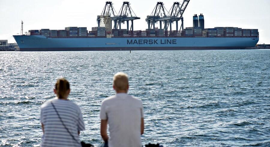 Arkivfoto. APM Terminals er trådt ind i en ny virkelighed, hvor højest mulig indtjening i de enkelte containerterminaler ikke længere nødvendigvis er det højeste mål.