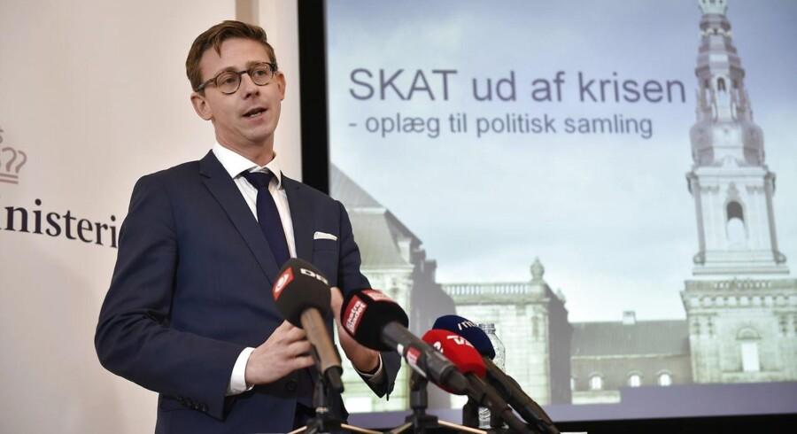 ARKIVFOTO 2015 af Skatteminister Karsten Lauritzen (V) (Foto: Jens Nørgaard Larsen/Scanpix 2017)