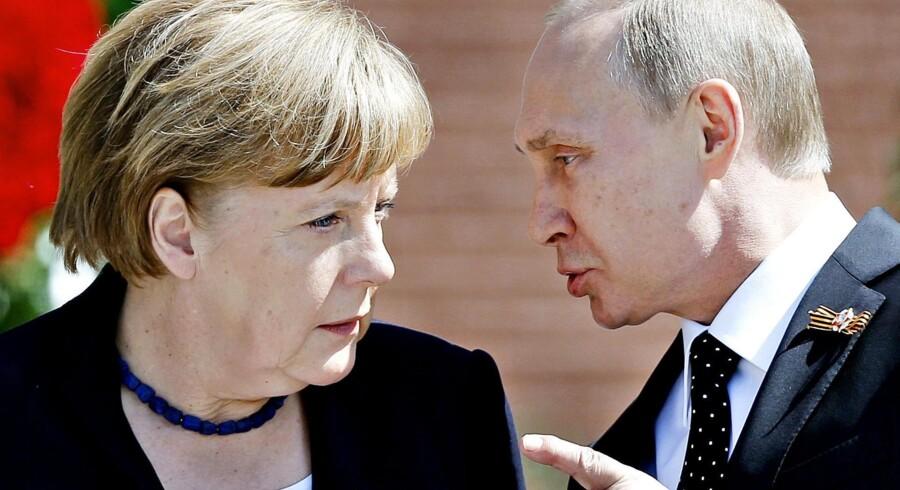 Ifølge en ny bog er Ruslands præsident Putin i færd med at etablere en hemmelig hær i primært Tyskland. Eksperter påpeger, at han er fuldstændig paranoid i forhold til truslen fra Vesten. Foto: Reuters