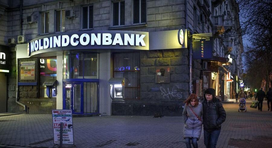 Moldinconbank er et omdrejningspunkt for den hvidvask, moldaviske myndigheder mener, har fundet sted.