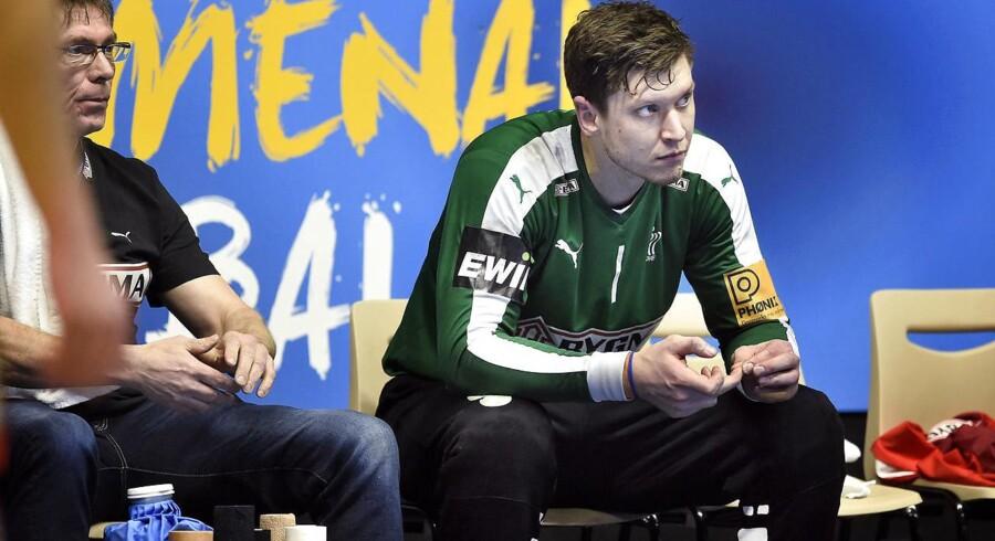 Arkivfoto. Mens Niklas Landin har stor succes med landsholdet, har sæsonstarten i THW Kiel været knap så vellykket.