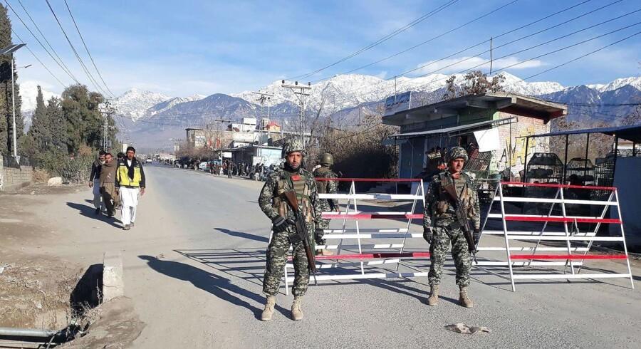 Arkivfoto. Parkistansk militær oplyser, at de har befriet en amerikansk familie, der har været holdt som gidsler i Afghanistan