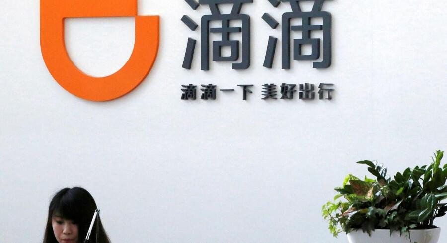 Didi Chuxings hovedkvarter i Beijing, Kina.