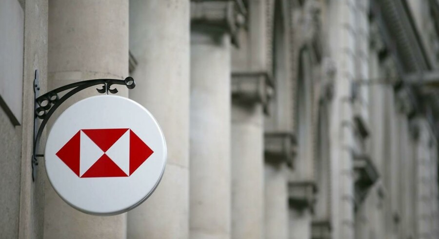 HSBC i det britiske finansdistrikt City of London.