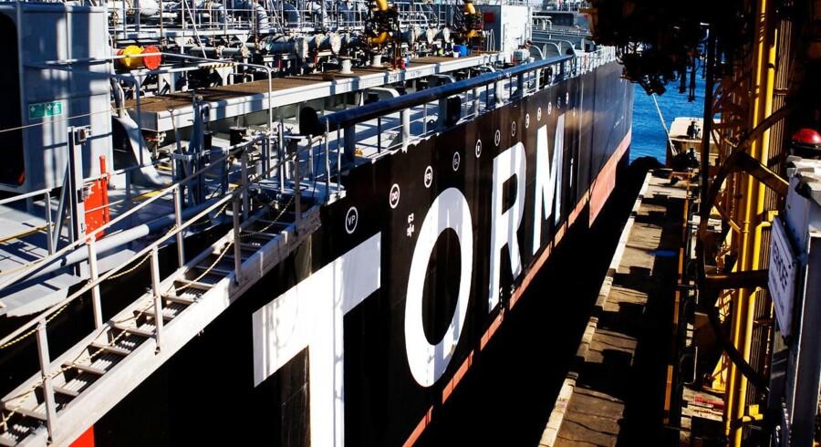 Arkivfoto. De hårde tider i oliebranchen går ud over rederiet Torms indtjening, der er faldet i første kvartal.