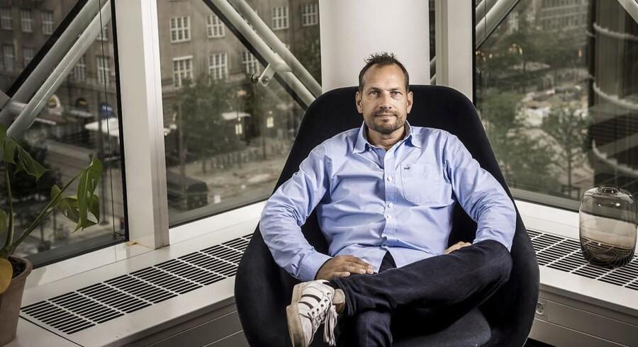 Martin Thorborg, iværksætter, medstifter af og direktør i Dinero.