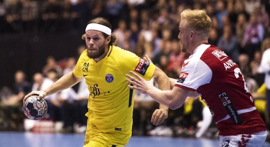 Mikkel Hansen og PSG slår sikkert Aalborgs mestre (Foto: Bo Amstrup/Scanpix 2017)