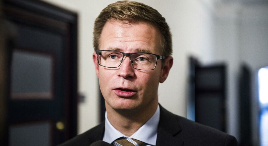 Transportministerens fejl skal korrigeres hurtigst muligt, siger Socialdemokratiets finansordfører og næstformand i Finansudvalget, Benny Engelbrecht. Scanpix/Ólafur Steinar Gestsson