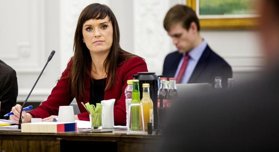 Åbent samråd om ekstraregning til kommunerne som følge af forsinkede it-systemer Minister for offentlig innovation Sophie Løhde (V).
