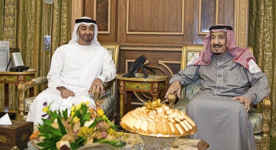 Saudia-Arabiens kong Salman bin Abdulaziz overvejer sin fremtidige sommerdestination. Foto. Saudi Press