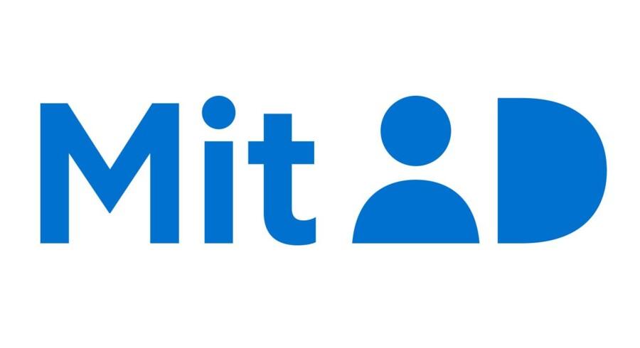 MitID skal afløse NemID og være både mere brugervenlig og fremtidssikret, lover Digitaliseringsstyrelsen. Sådan kommer logoet til at se ud.
