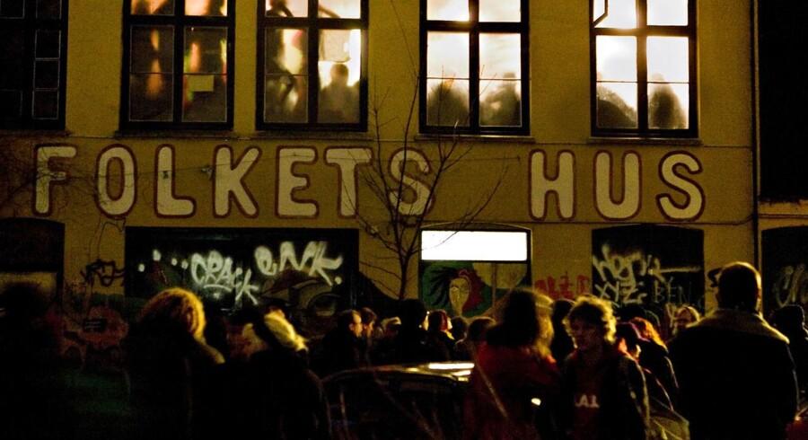 Arkivfoto: Møde i Folkets Hus på Indre Nørrebro. 2007