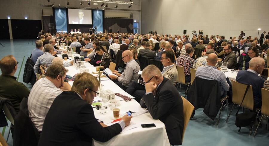 Nye Borgerlige holder årsmøde i Vejle lørdag d. 14. oktober 2017. (Foto: Michael Drost-Hansen/Scanpix 2017)