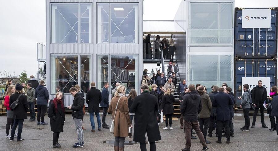 Københavns Kommune er officielt den første kommune i landet, der har benyttet sig af planlovens nye mulighed for at opføre studieboliger på midlertidigt tomme arealer. Foto: Mads Joakim Rimer Rasmussen