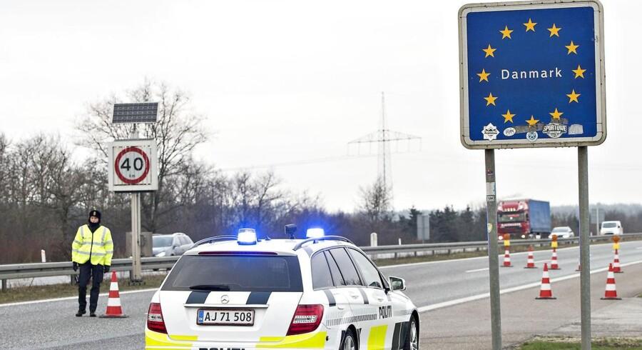 Der er ifølge det tyske indenrigsministeriet sket en kraftig stigning i antallet af afviste asylansøgere, som rejser illegalt ind i Tyskland via den dansk-tyske landegrænse. Arkivfoto.