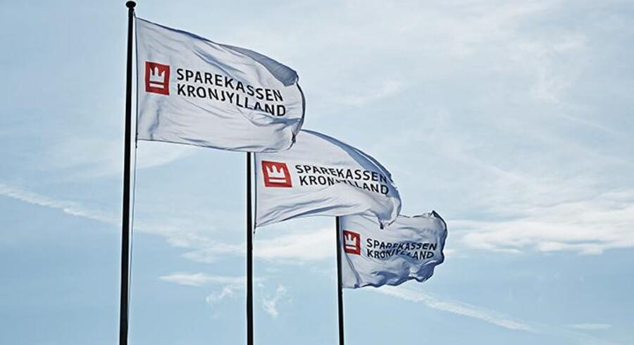 Sparekassen Kronjylland har vokseværk og breder sig længere og længere væk fra kerneområdet på Randers-egnen. Pressefoto.