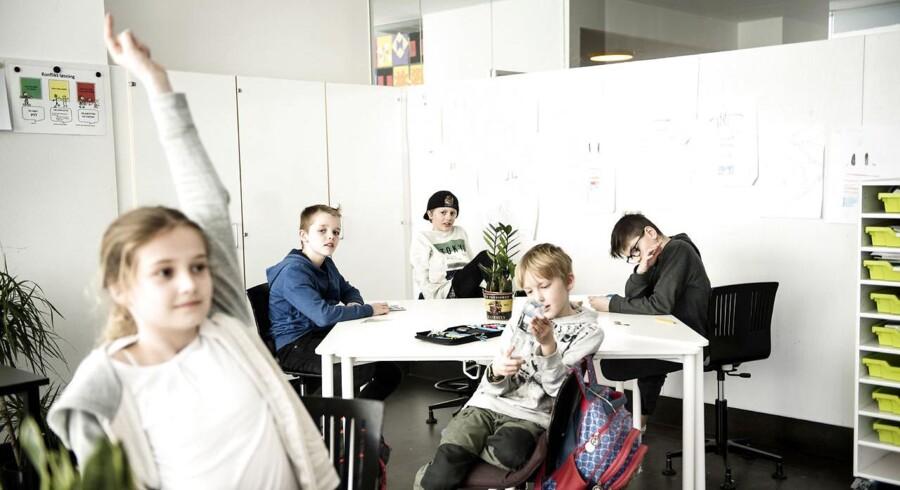 Elever på Ørestad Skole. Arkivfoto: Scanpix