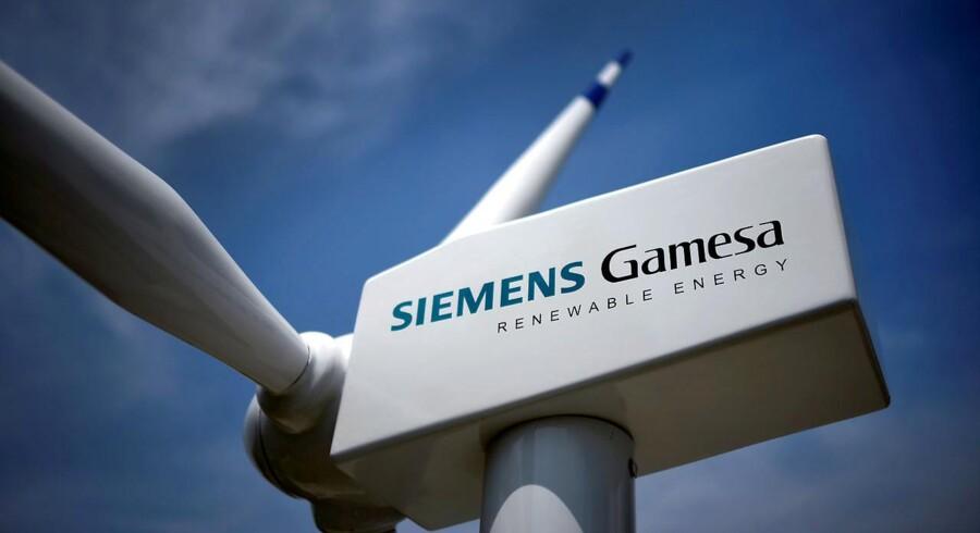 Siemens Gamesa skal levere vindmøller til Dongs havvindmøllepark ud for Hollands kyst.