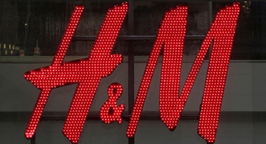 Arkivfoto. Svenske H&M storsælger til danskerne og vil sælge endnu mere i 2017.