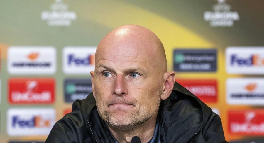 Det kræver tålmodighed at skabe chancer mod et hårdtarbejdende Atletico Madrid-hold, siger Ståle Solbakken.