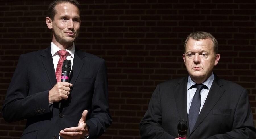 Kristian Jensen er parat til kampvalg om formandsposten i Venstre, når Lars Løkke Rasmussen træder tilbage.