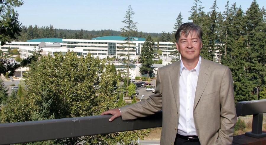 Anders Hejlsberg er et internationalt navn i programmørverdenen, som han har vendt op og ned på med sine programmeringssprog. Gennem mange år har han arbejdet for Microsoft. Arkivfoto: Dan Levine, Scanpix