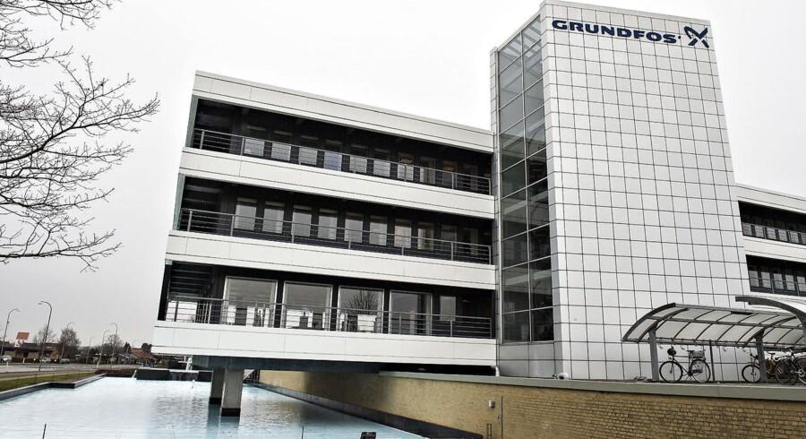 Grundfos hovedkontor (foto: Henning Bagger / Scanpix 2017)