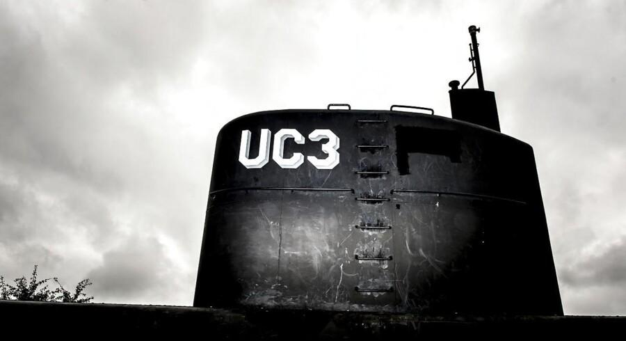 Peter Madsens ubåd »UC3 Nautilus« er i politiets varetægt og stod 11. september 2017 bag et hegn i Nordhavnen i København. Raket- og ubådsbyggeren Peter Madsen sænkede som en bevidst gerning »UC3 Nautilus« 11. august, kort før han blev reddet i land. Dengang forklarede han, at ubåden sank på grund af en teknisk fejl. Siden har politiet bjærget ubåden og foretaget tekniske undersøgelser.