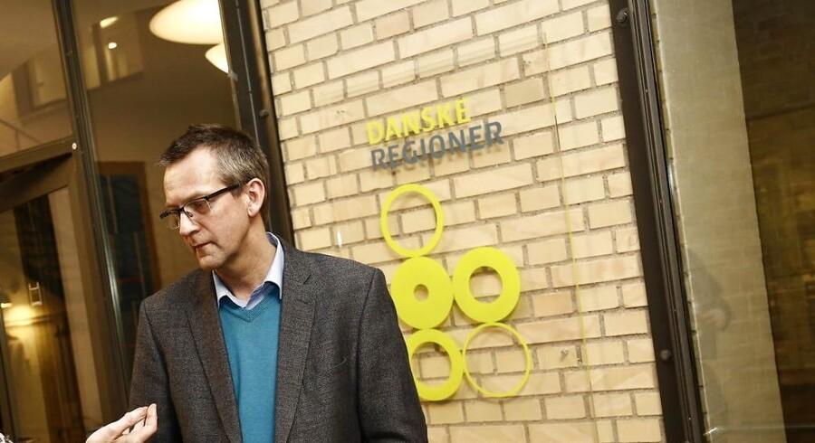 Jens Stenbæk (V), næstformand i Danske Regioner (Foto: Martin Sylvest Andersen/Scanpix 2013)