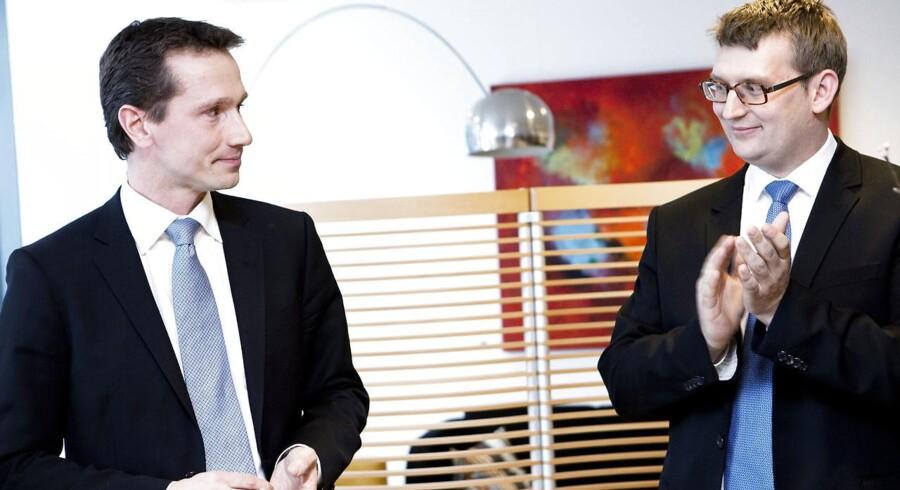 Kristian Jensen er trods posten som Venstre-næstformand kun nummer seks i magthierarkiet, mens Troels Lund Poulsen har gjort et stort comeback.
