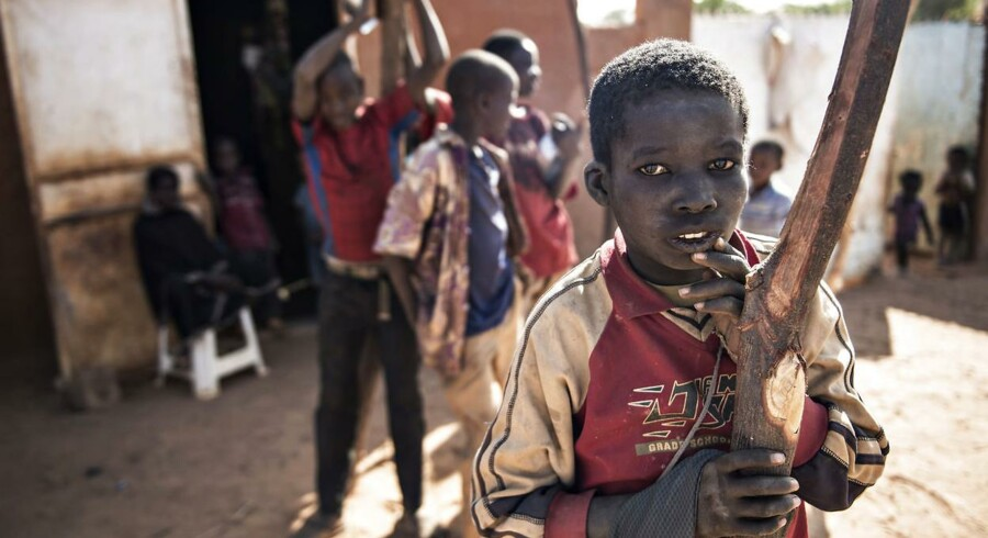 Børn i Niger, der har verdens højeste fødselsrate