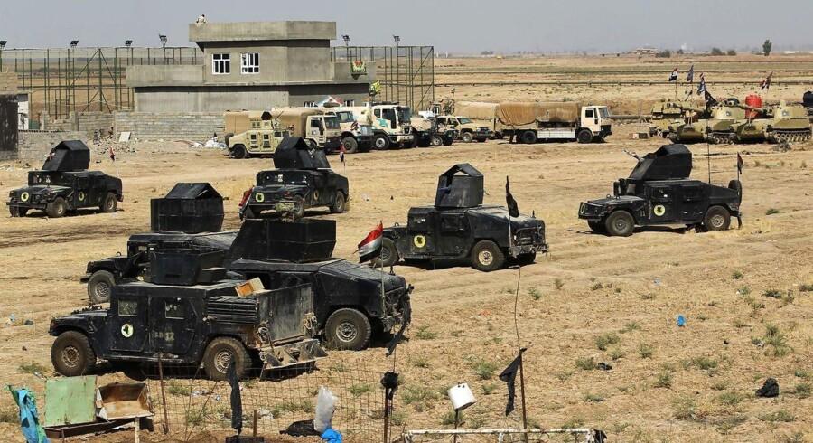 Med mobiliseringen af den irakiske hær og shiamilitserne omkring den kurdisk kontrollerede by Kirkuk står Irak på tærsklen til borgerkrig.