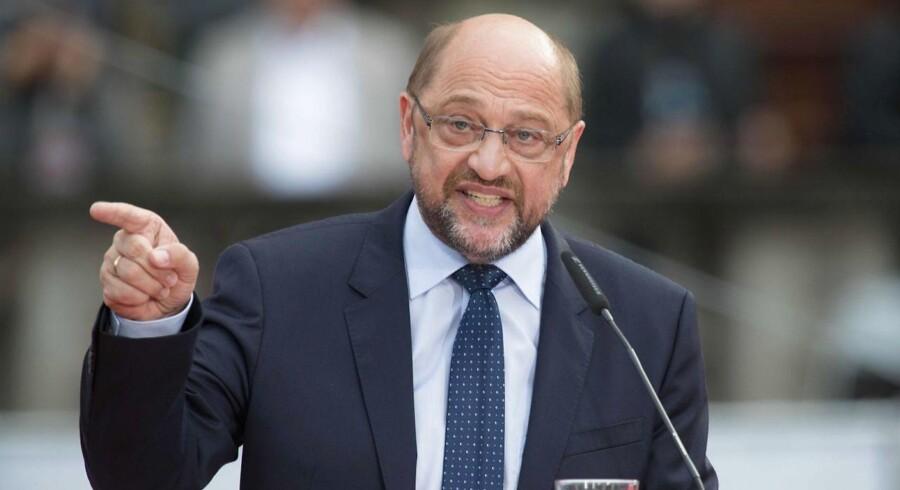 Amerikanske atomvåben hører ikke hjemme i Tyskland, lyder budskabet fra den tyske kanslerkandidat Martin Schulz.