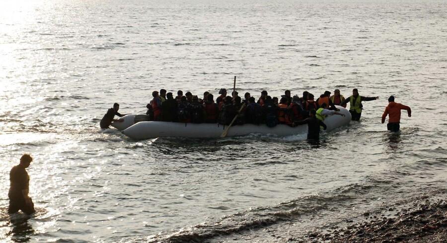 Arkivfoto: Flygtninge og migranter er i stigende grad begyndt at sejle fra Tyrkiet over Sortehavet til Rumænien.