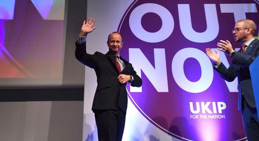 Henry Bolton skal stå i spidsen for partiet Ukip.