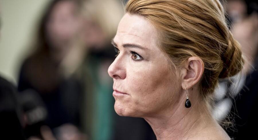 Udlændinge- og integrationsminister, Inger Støjberg (V).
