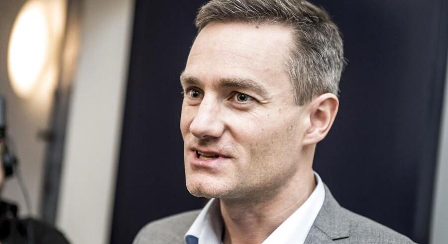 Erhvervsminister Rasmus Jarlov (K)