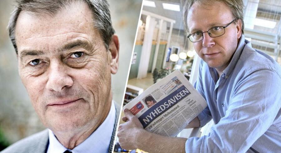 De to debattører, erhvervsmanden Asger Aamund og journalist og forfatter David Trads, er røget i totterne på hindanden i kølvandet på et omdiskuteret debatindlæg.