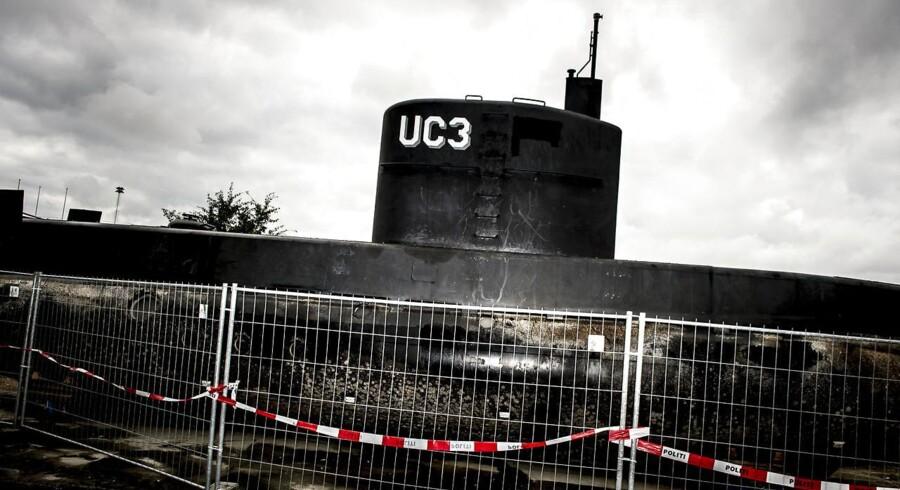 Peter Madsens ubåd UC3 Nautilus.