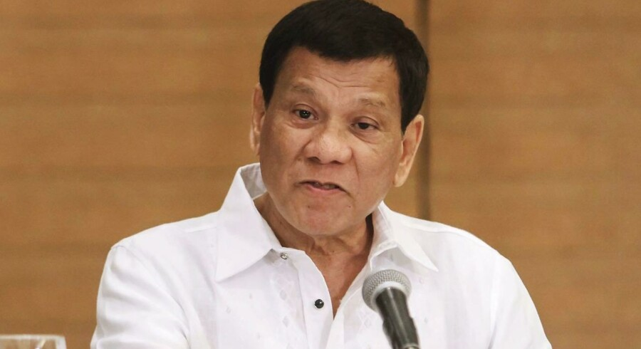 Præsident Rodrigo Duterte.