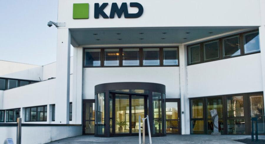 Størstedelen af et nyt pensionssystem fra KMD består af software, som KMD selv har udviklet - stik mod kontrakten, for dermed er ATP, som skal bruge det 15 måneder forsinkede system, bundet til KMD fremover. Arkivfoto: KMD