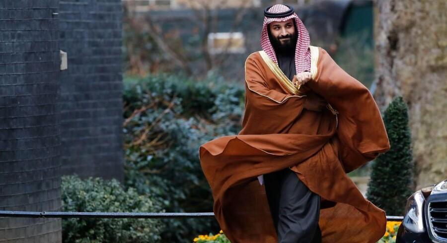 Så snart israelske embedsmænd bekræftede, at Mohamed bin Salman havde været på besøg, markeredes starten på et nyt officielt forhold mellem Saudi-Arabien og Israel, som aldrig før har haft diplomatiske forbindelser. / AFP PHOTO / Tolga AKMEN