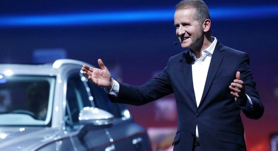 Herbert Diess har kurs mod at blive den nye topchef i Volkswagen.