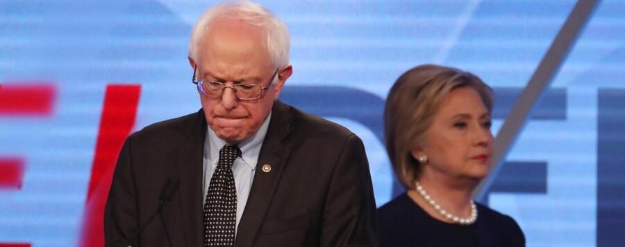 Sanders skulle pludselig i forsvarsposition over nogle udtalelser fra 1980'erne.