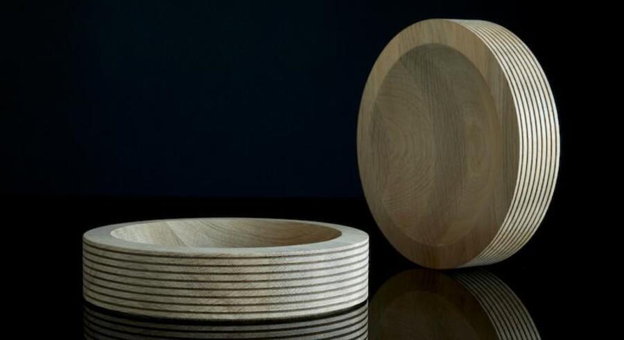 Divide træfad fra Piece of Denmark, Ø26 cm 950 kr., Ø36 cm 990 kr.