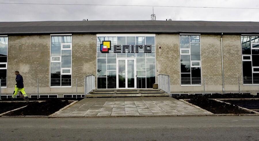 Virksomheden Eniro er flyttet ind i en ombygget industrihal i Søborg.