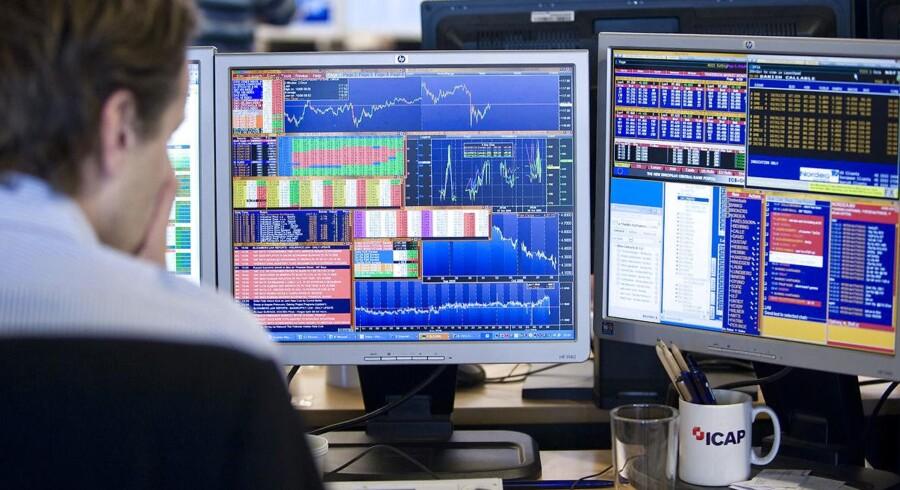 Arkivfoto. De sidste par dage har været hårde for investorer i danske aktier, hvor flere danske selskaber har oplevet modvind. Og den negative stemning vil fortsætte, vurderer Lars Skovgaard Andersen, der er senior investeringsstrateg i Danske Bank.