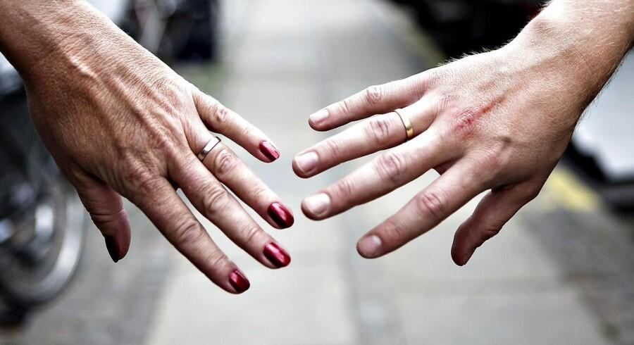 »Vi voksede fra hinanden« er den hyppigste skilsmisseårsag ifølge en ny TNS Gallup-måling for Berlingske. (Foto: Rune Evensen/Scanpix 2017)