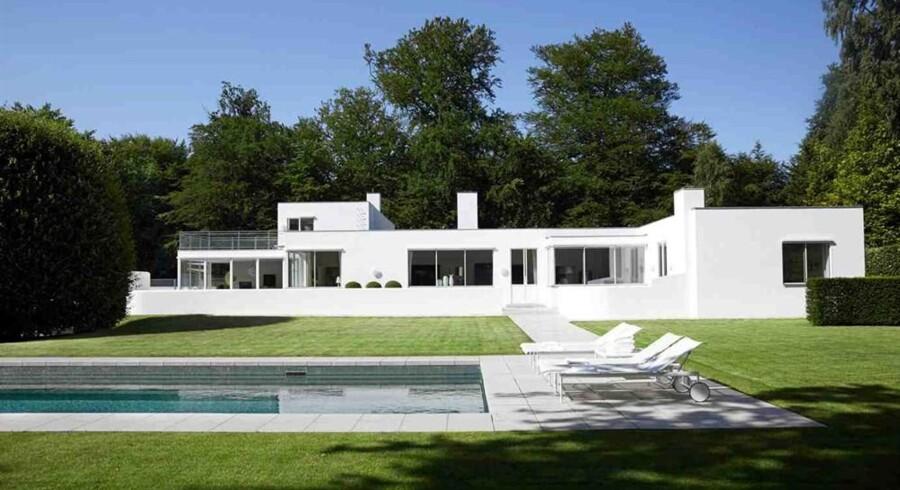 Denne villa på Klampenborgvej i Klampenborg er det andetdyreste boligsalg i år.